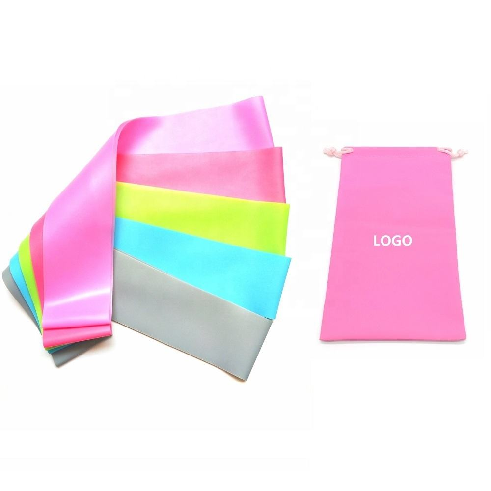 Colorful TPE band /Latex free exercise band/ fitness resistance band