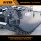 RIVER-215 hot sale amphibious excavator marsh excavator pontoon undercarriage excavator manufacturer