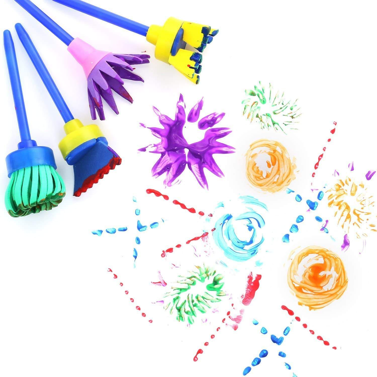 Various Beautiful Stationery Sponge Brush For Painting