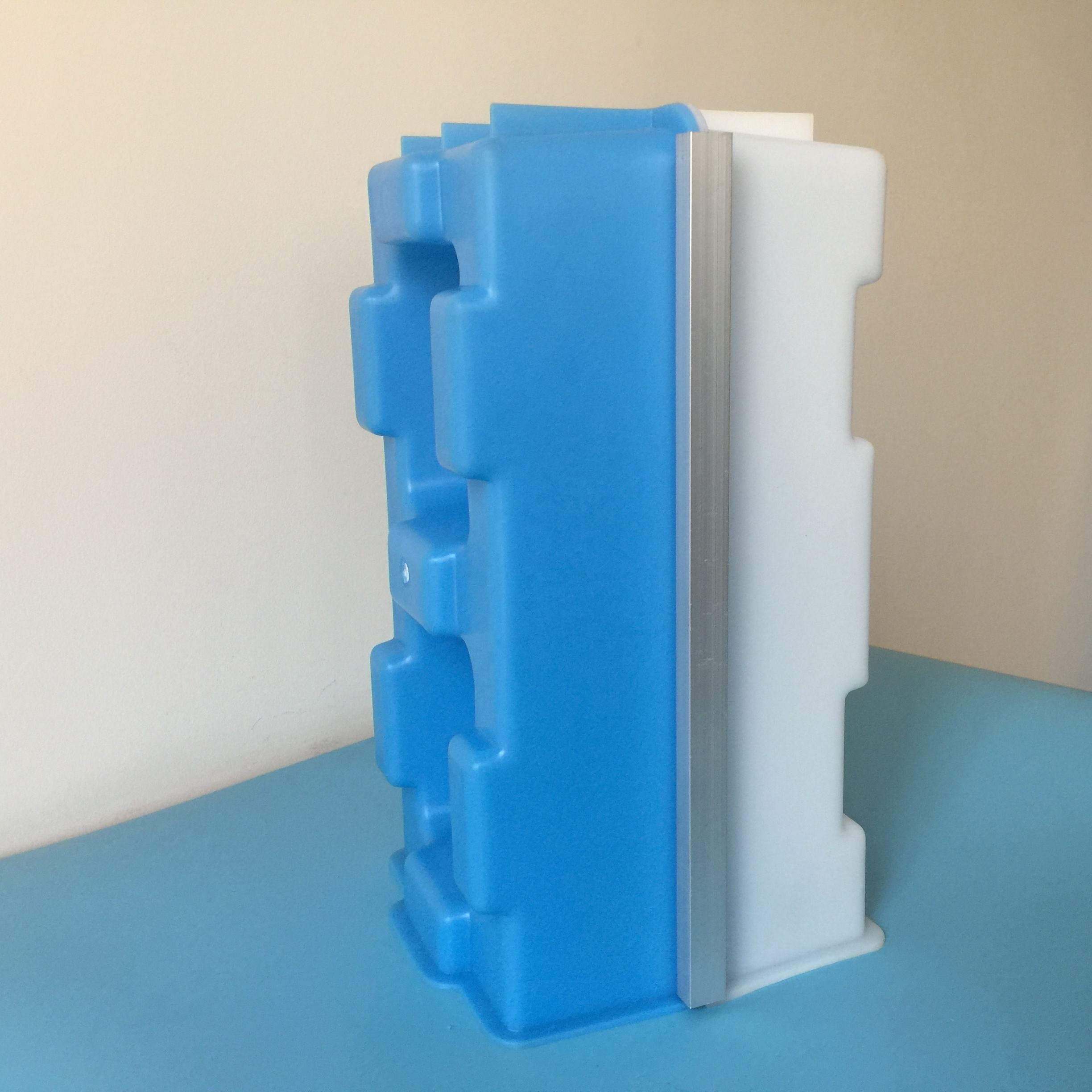 300*150*150mm Hollow Interlocking Block Plastic Molds