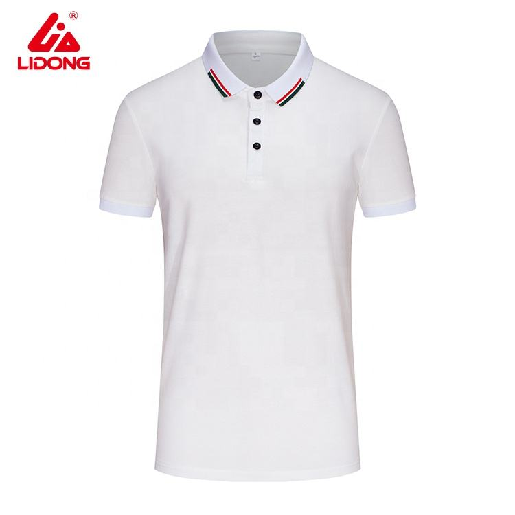 Top Selling Cheap Polo Golf T-shirts Low Moq Quick Drifit Custom Plain White Polo t shirt