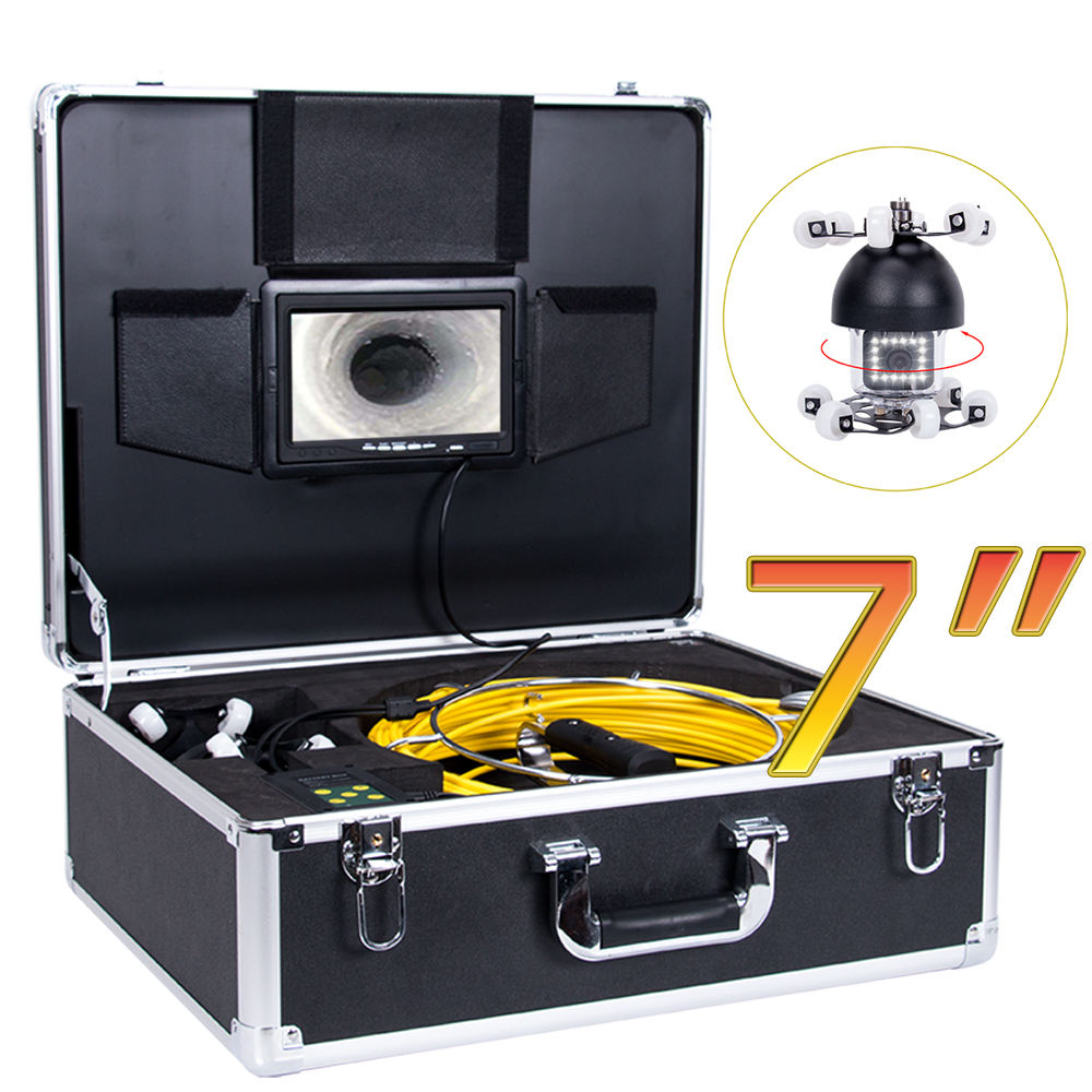 360 Degree Air Duct Clean Equipment CCTV Pipe Inspection Sewer Inspection Camera
