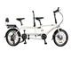 20 Inch Tandem bicycle Double Folding Bike High carbon Steel Frame Family Bicycle