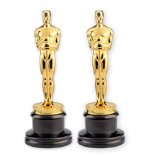 Custom Home Furnishing Metal Oscar Statuette Trophy Alloy Souvenir Trophy