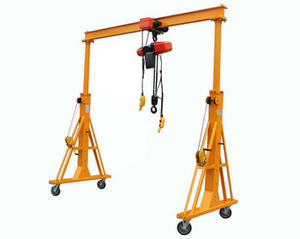 Hot sell 5 Ton 3meter Aluminum Boat Lift Gantry Crane With Electric Hoist