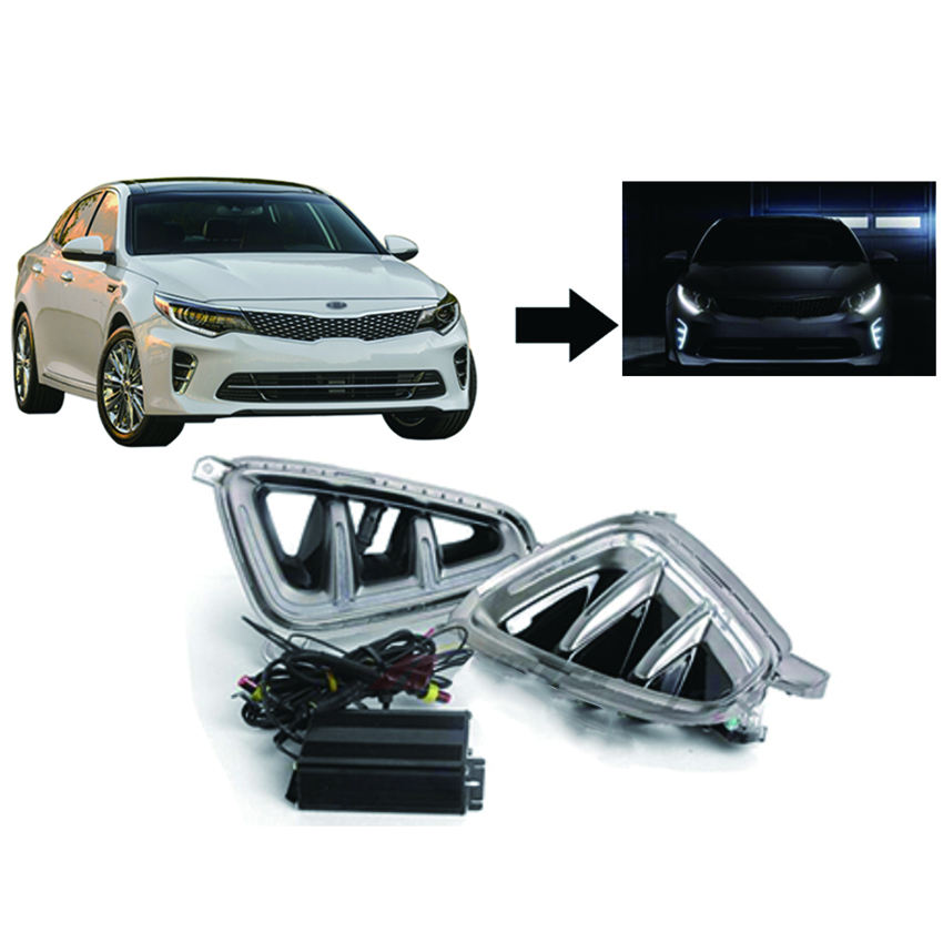 Universal Powerful Light Special Car LED Daytime Running Light Factory