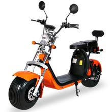 2 Seats Street Legal COC Big Wheel Fat Tire Electric Scooter for EU with removable lithium battery