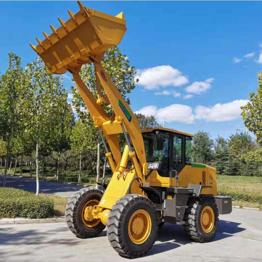Weichai Deutz Engine 92kw 3ton wheel loader with big cabin 17.5-25 tire