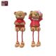 Factory Custom Handmade Resin Couple Bear Wedding Decoration