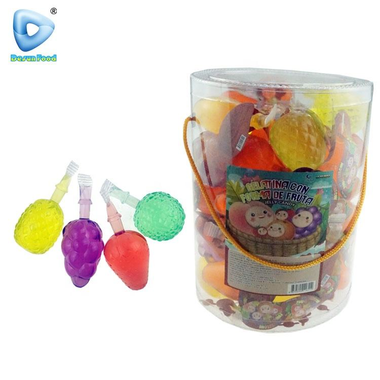 Fruit shape assorted suck jelly drink