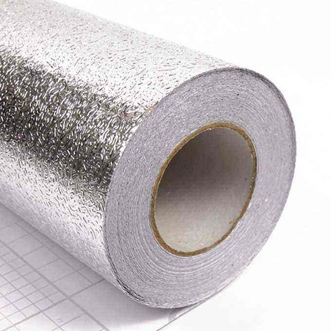 Self-Adhesive Heat Resisting Waterproof Damp-Proof Aluminum Foil stick paper