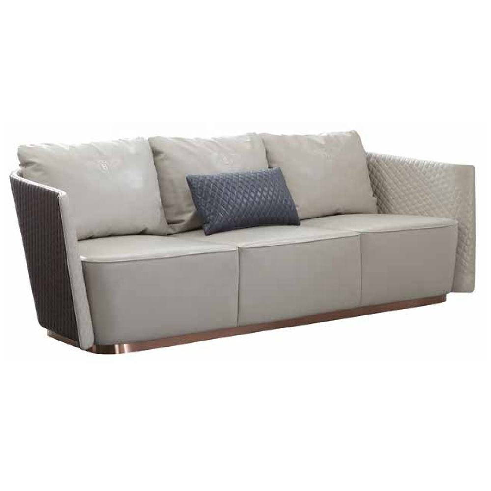 (SP-KS488) Desain Modern Leather Sectional Mewah Sofa Set Furniture Sofa Bed