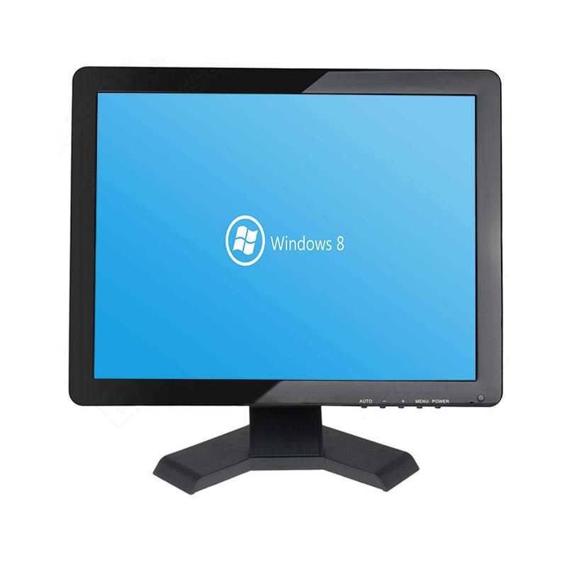 Same Style 15 17 19 Inch LCD Monitor with TV Port Cheap 15 Inch LED Desktop Computer TV Monitor