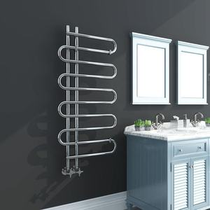 High quality OEM service SUN-D4 bathroom radiator towel rail small bathroom radiator chrome towel rail