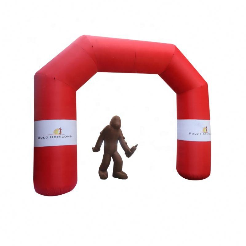 Custom Design Inflatable Race Arch welcome arch Exhibition Event Advertisement Wedding Inflatable Door For Race