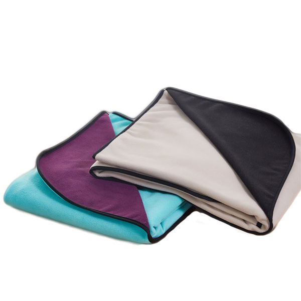 100% Polyester Polar Fleece Fabric Waterproof Blanket