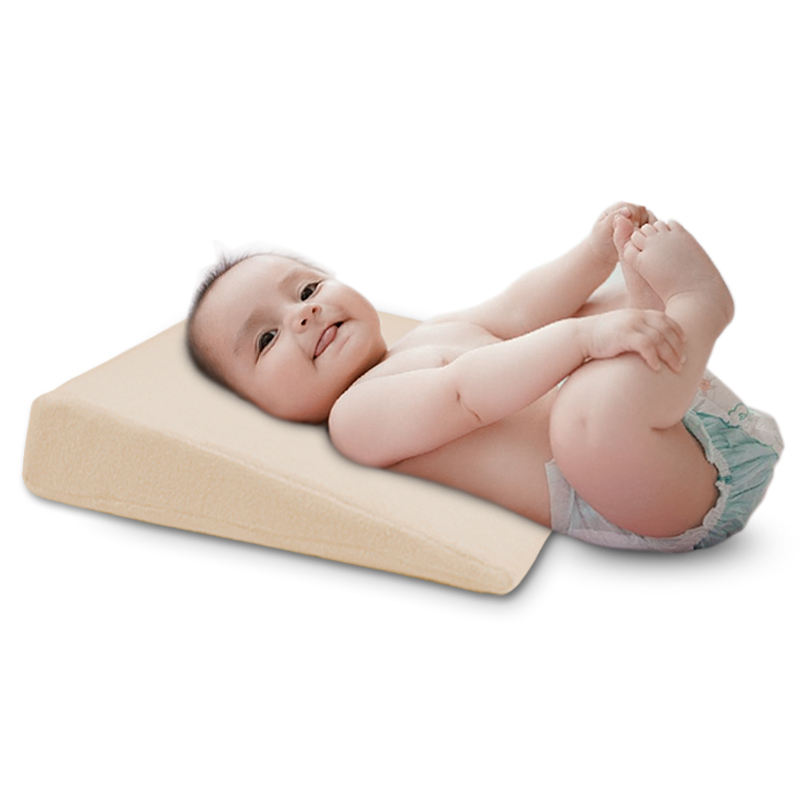 Universal Baby Sleep Crib Wedge Prevent Acid Reflux Pillow Nursing Pillow