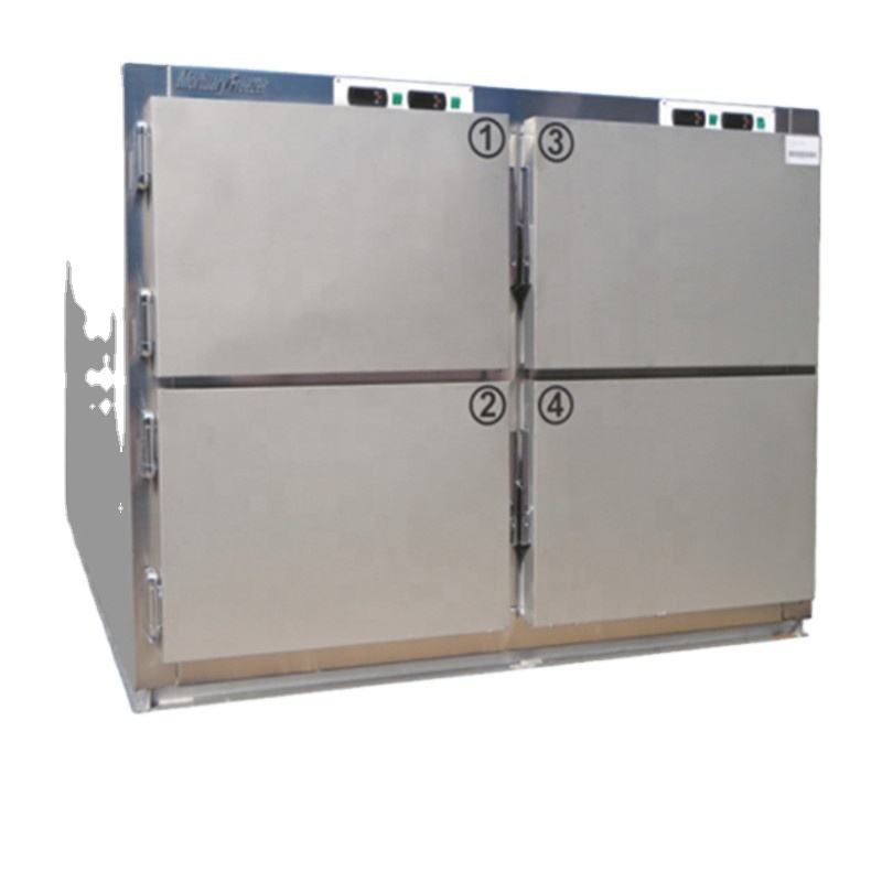 1-body 304 stainless steel cadaver freezer corpse mortuary refrigerator