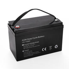 Camping Marine 4WD Solar Amp Hour Deep Cycle Batteries 170AH 12V AGM Battery