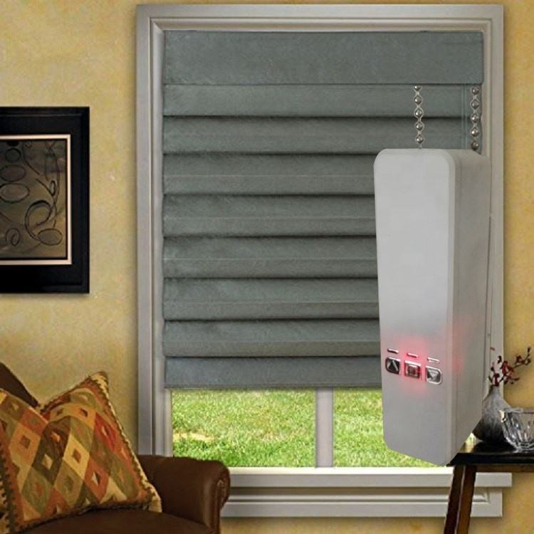 Cordless zebra roller shades double window curtains two layers fabric roller blinds