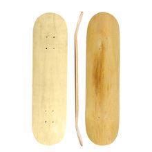 China 31*8inch 9 ply custom uncut pro blank wooden maple skate deck for skateboard