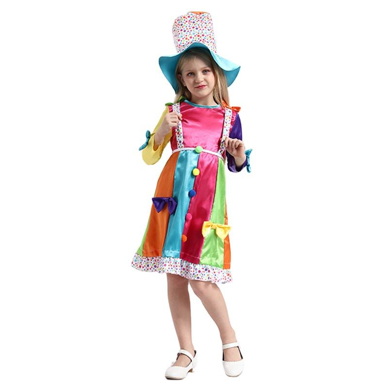 2020 factory price halloween costume clown costume halloween costume-photos-clown