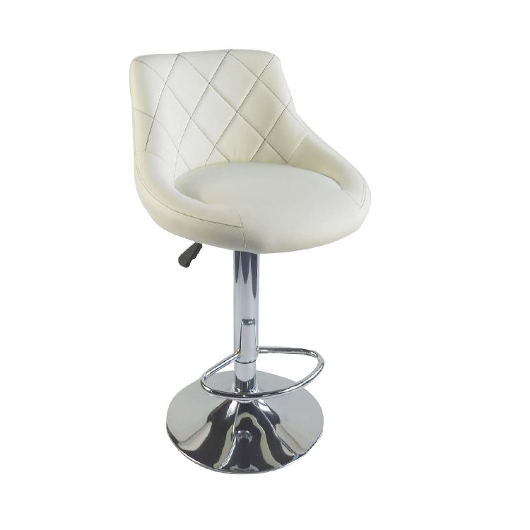 Modern YB-801B On Sale Wholesale Swivel Modern Metal Bar Chair High Stool