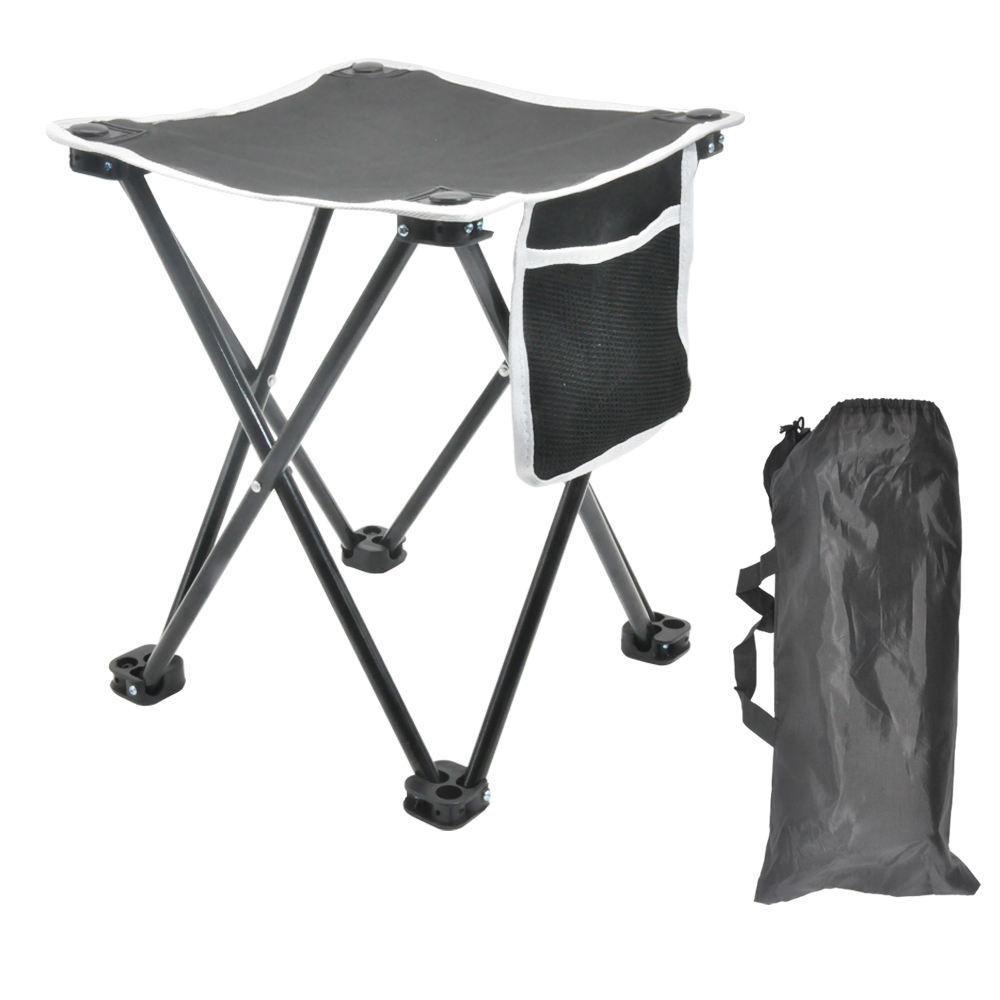 Outdoor portable folding foldable sport hiking hunting picnic chair camping fishing stool with carrying bag