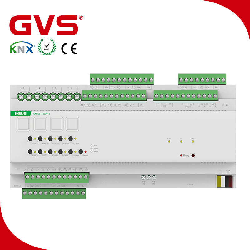 2018 KNX/EIB GVS K-bus home automation system KNX Room Controller in smart home system automation