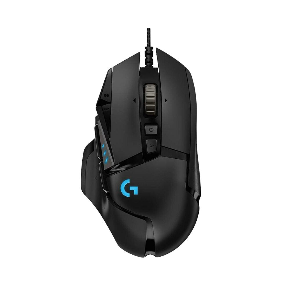Logitech G502 16000DPI Wired Gaming Maus Motor RGB Gaming Maus