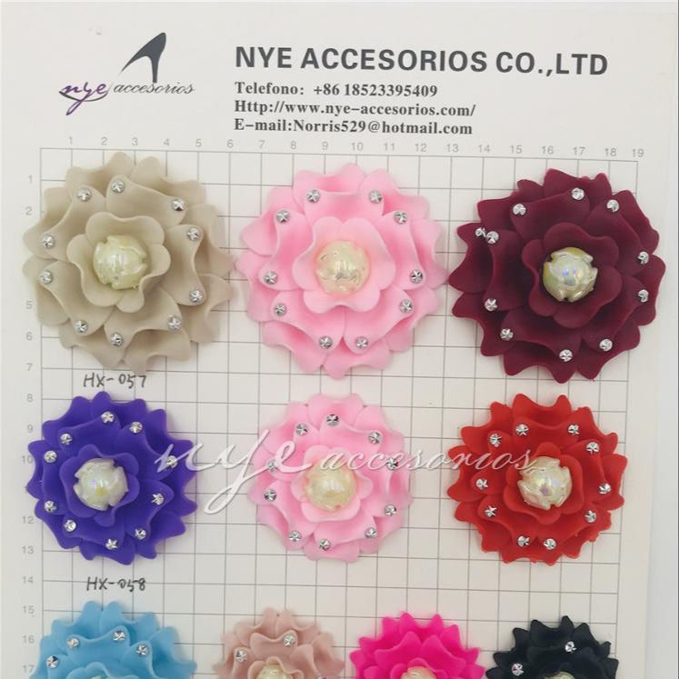 hot selling and Fashional design plastic shoe buckle shoe flower