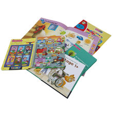 Custom baby touch and feel board books  With Printing For Children Education