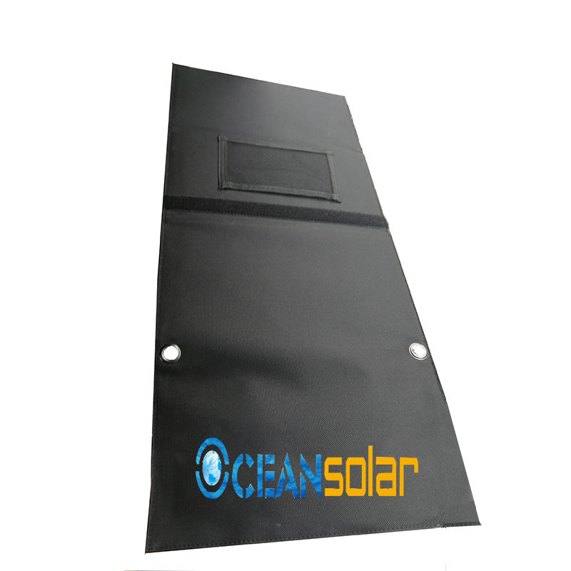 Factory hot sales waterproof portable solar panel foldable solar charger for mobile phone