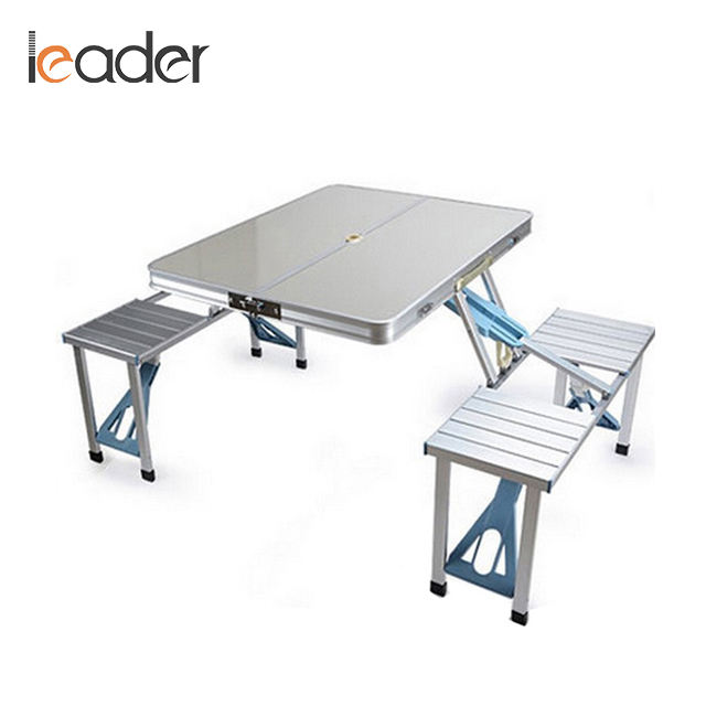 Good Quality Aluminum Outdoor Folding Table And Bench