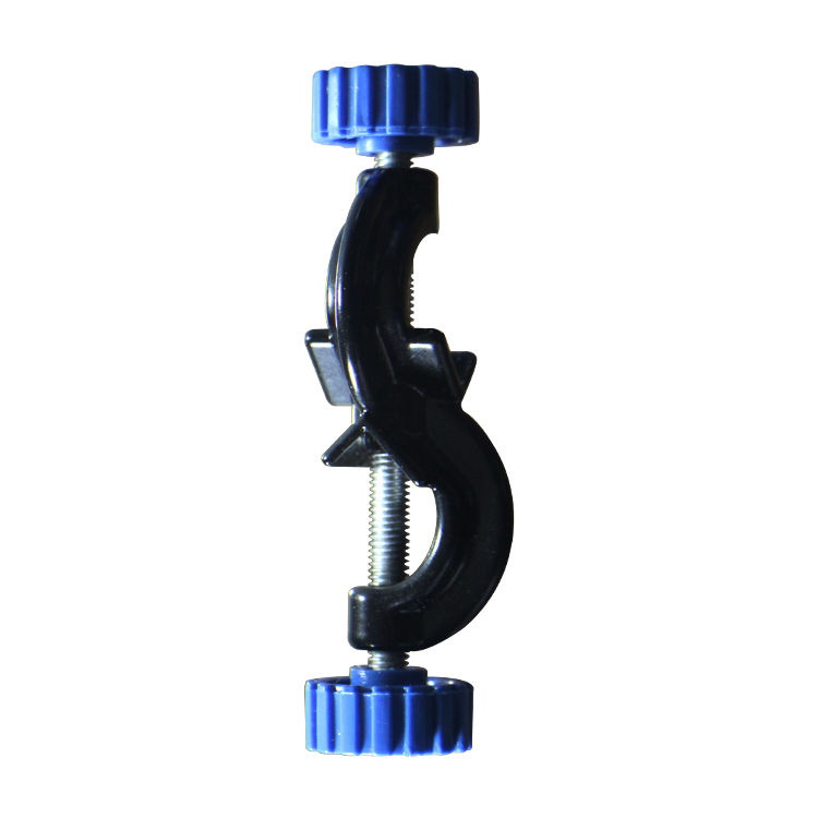 clip Blue knob Iron stand accessories Chemical laboratory equipment Blue clip