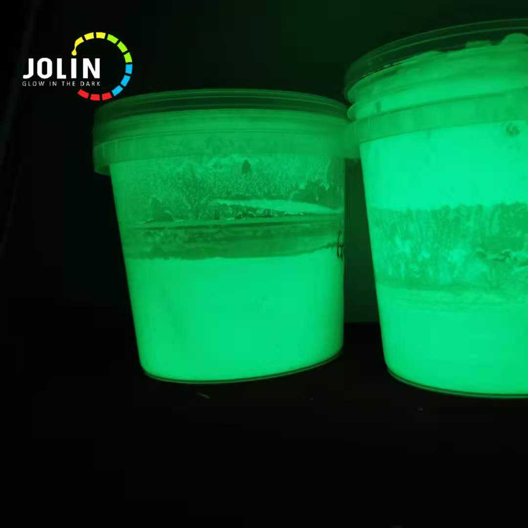 Glow paint that can be painted on a variety of surfaces, waterproof and non-waterproof