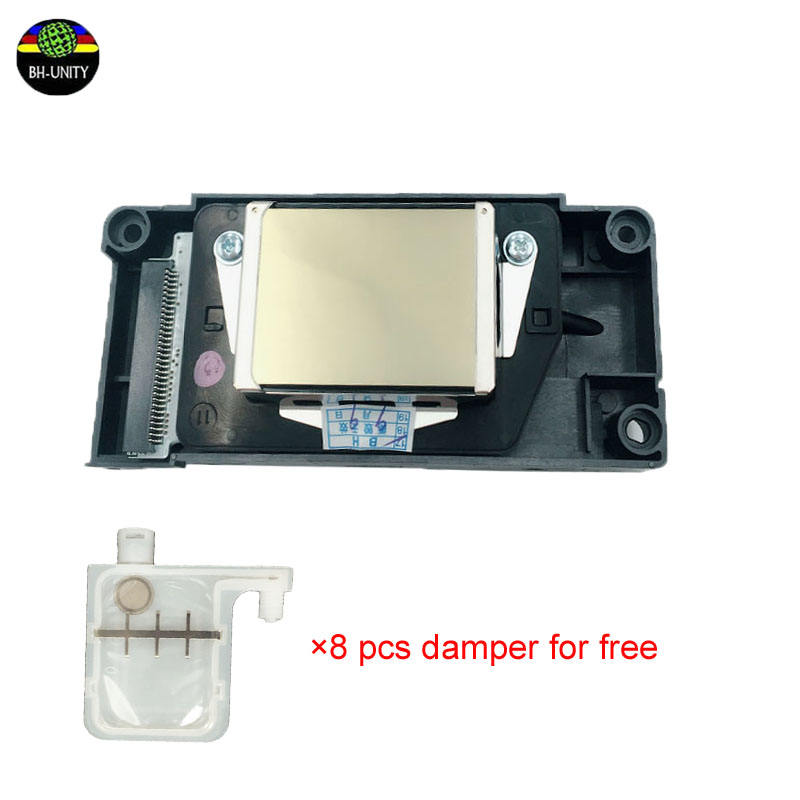 8pcs damper free!Japan f186000 printhead unlocked ep son cabezal dx5 print head eco-solvent price for galaxy dx5 printer