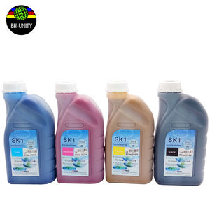 eco solvent ink SK1 CMYK for spt 508gs printhead FY infiniti challenger eco solvent printer 1000ml/bottle high quality