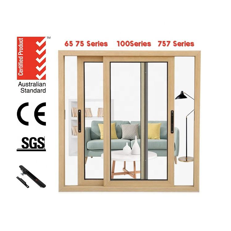 Free Spare Parts [ Window Glasses ] Economical Style Cheap Price Pnoc Aluminum Sliding Window With Double Glasses