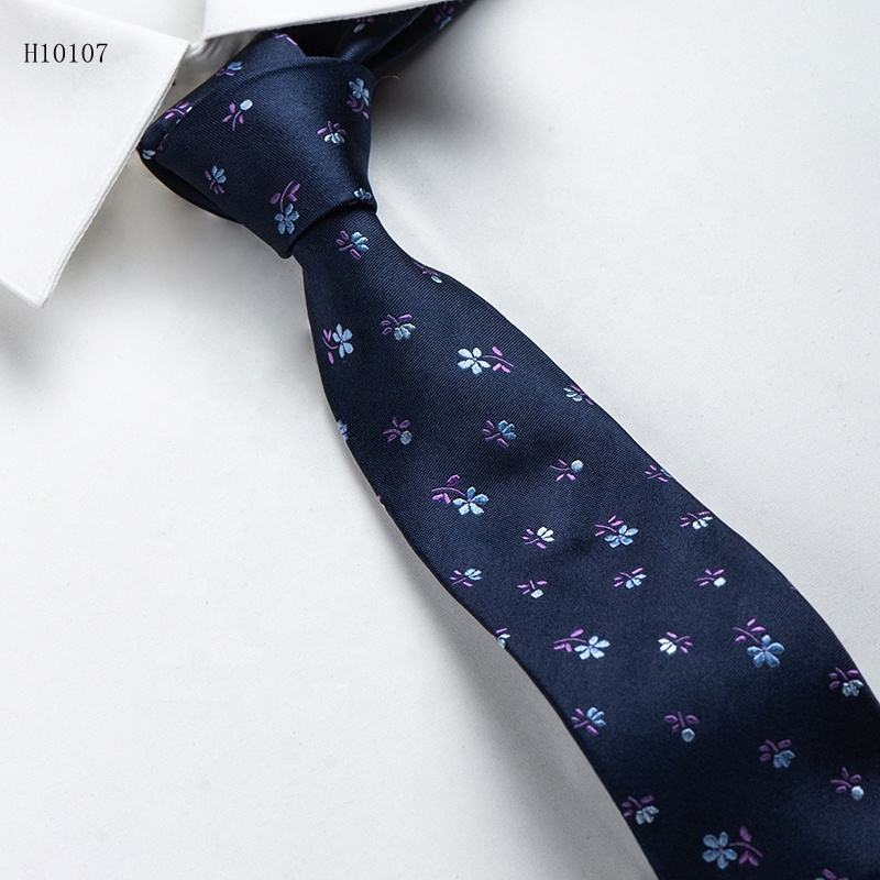 Popular Nostalgic Retro Style High Quality Classic Silk Neckties Fashion Small Dot Mens Silk Tie Necktie