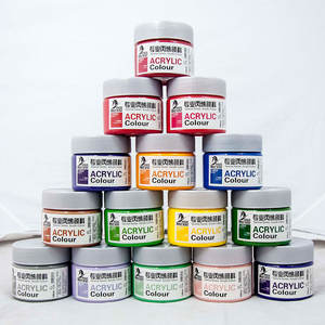 Customized best-selling Non-toxic Acrylic Paint 100 ml