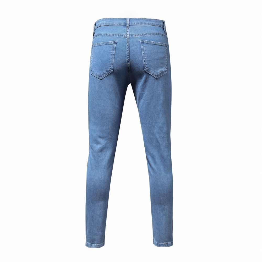 Factory price new design ripped mens clothing men trousers jeans