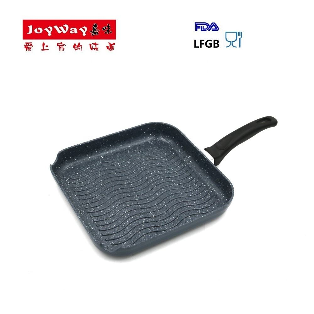Joyway Custom logo wholesale Sauce pan Non-stick coating Grill pan with induction