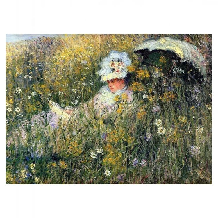 Famous Claude Monet Oil Painting DIY Oil Painting Paint By Number for Adults