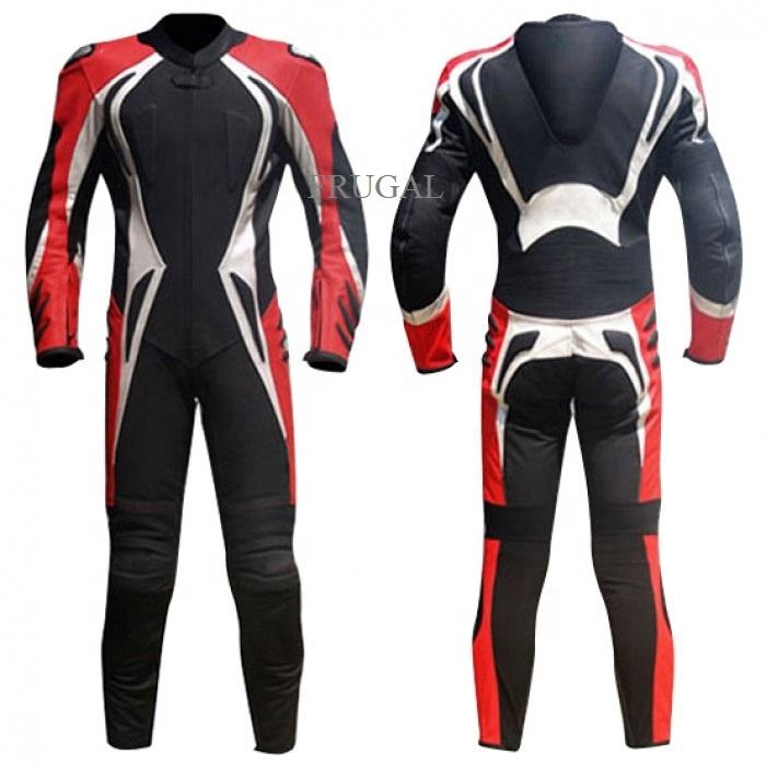 Custom Motorfiets Lederen Race Pak Biker Racing Pak Motorbike Leather