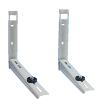 High strong wall mount support bracket for air conditioner with all necessary accessories