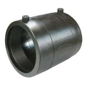 PE HDPE pipe electrofusion fitting electro fusion coupler equal coupling for hdpe pipe