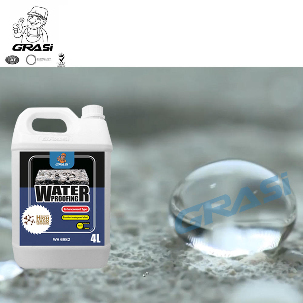WH6982 construction building polyurea nano waterproofing protection coatings hydrophobic