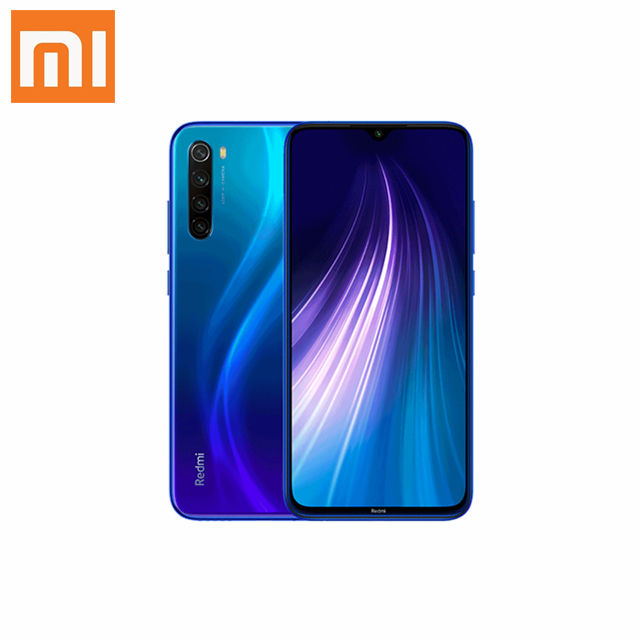 "Global version Redmi Note 8 4GB 64GB Snapdragon 665 mobile phone 48MP Quad Rear Camera 6.3"" Screen 4000mAh 18W Fast Charger"