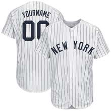 Polyester Sublimated Sports Wear Printing Stripes Majestic Custom Yankees Baseball Jerseys Top